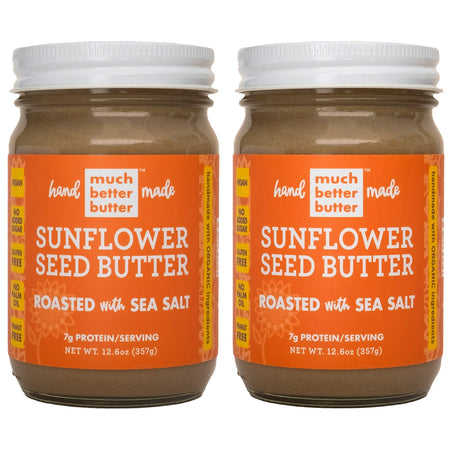Roasted with Sea Salt Much Better Butter™ Sunflower seed butter