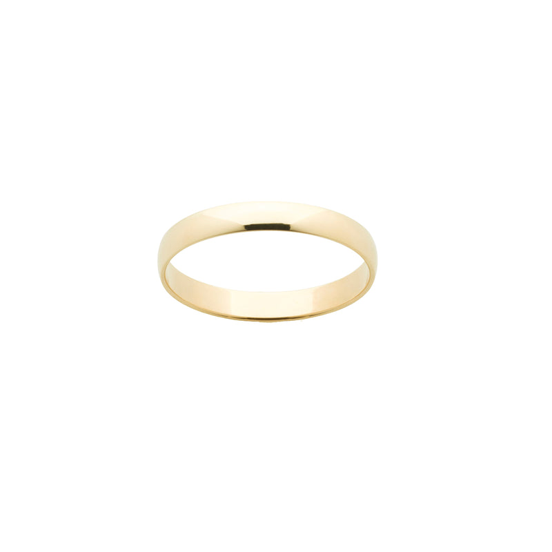9k Yellow Gold Ladies Wedder k
