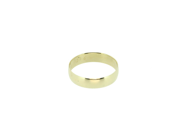 9k Yellow Gold Gents Wedder Size U