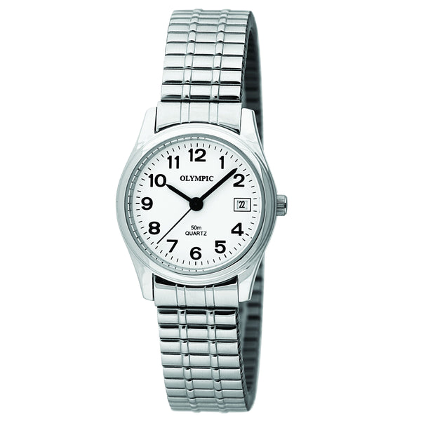 Olympic Ladies Watch Date 12 Figure, Expander