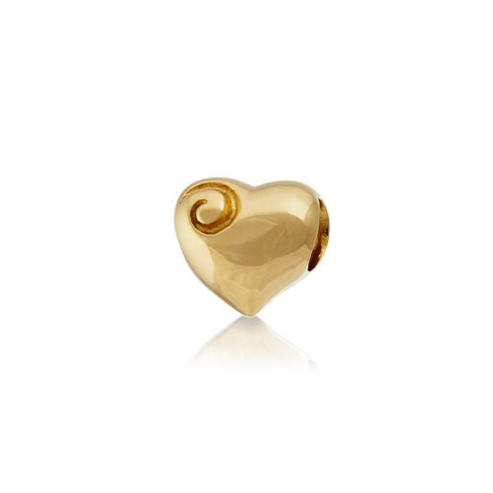 Evolve Gold Charms Aotearoa's-Heart-(Gold) 110G
