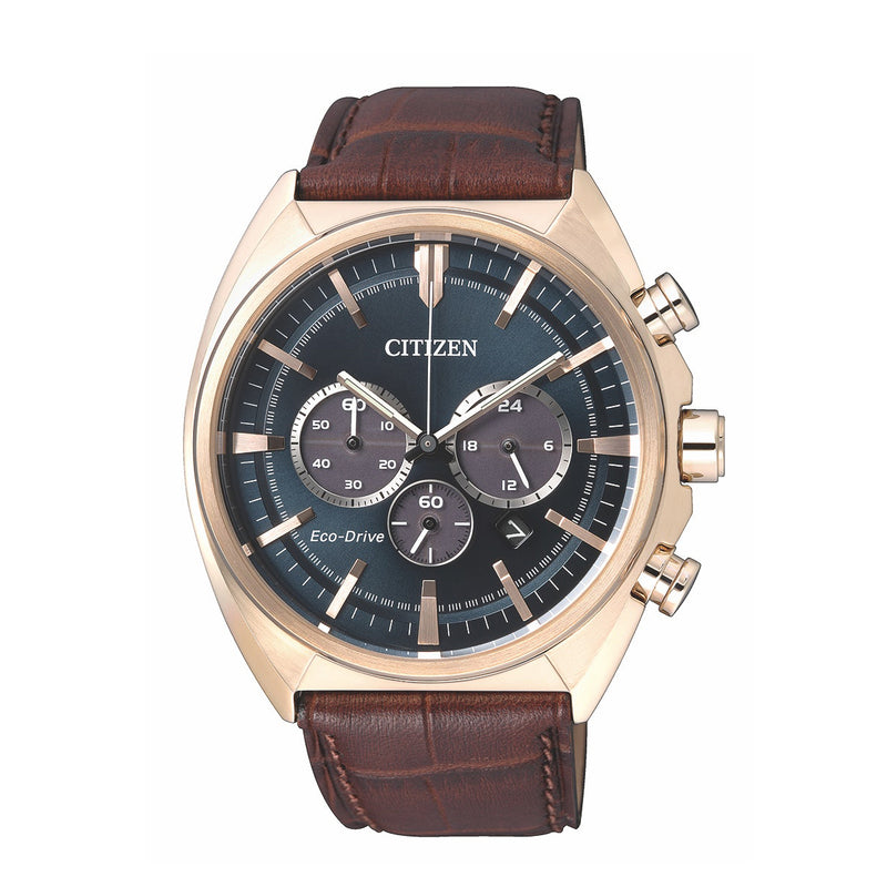 Citizen Gents Watch Eco-drive Chrono STR SSRGP WR100