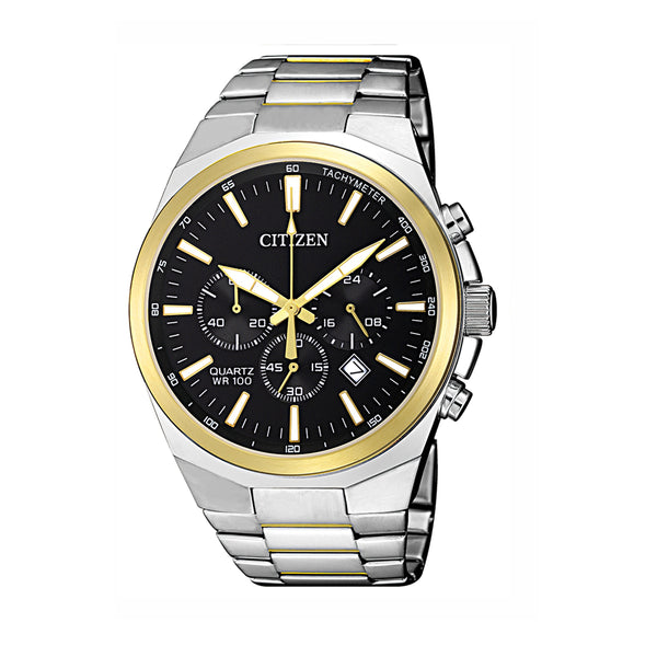 Citizen Gents Watch Chrono B/let SSTT WR100