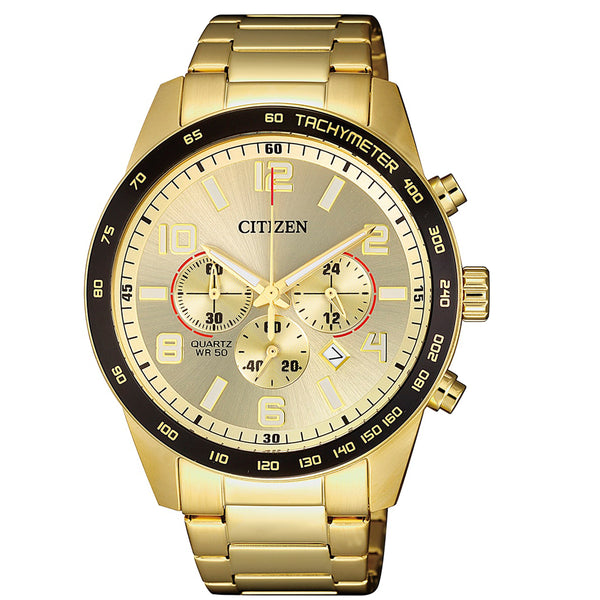 Citizen Gents Watch Quartz Chrono B/let SSYP WR50