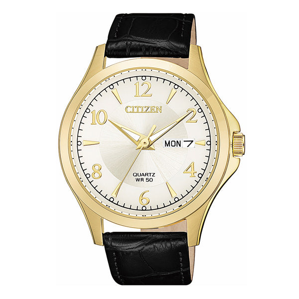 Citizen Gents Watch Quartz STRP SSYP WR50