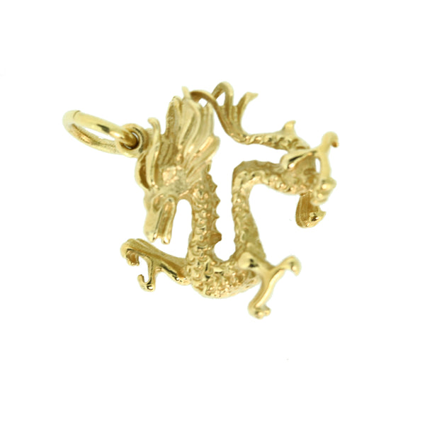 9ct Dragon Charm