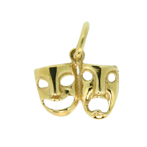 9ct Masks Charm