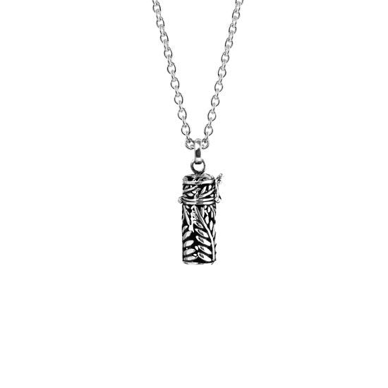 Evolve Jewellery Stg Silver Fern Locket
