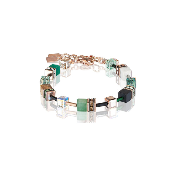 Coeur De Lion CL 4905/30-0510 Natural Selection Bracelet Geo-Cube