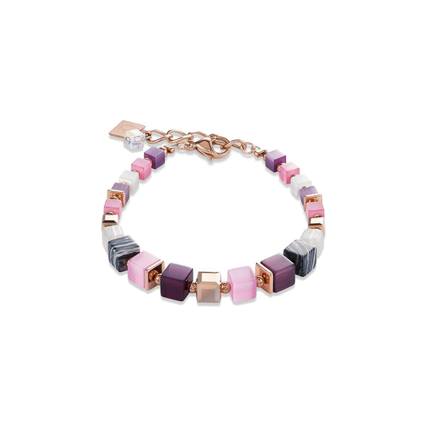 Coeur De Lion CL4963/30-1908 Multi Colour Geo-cube Bracelet