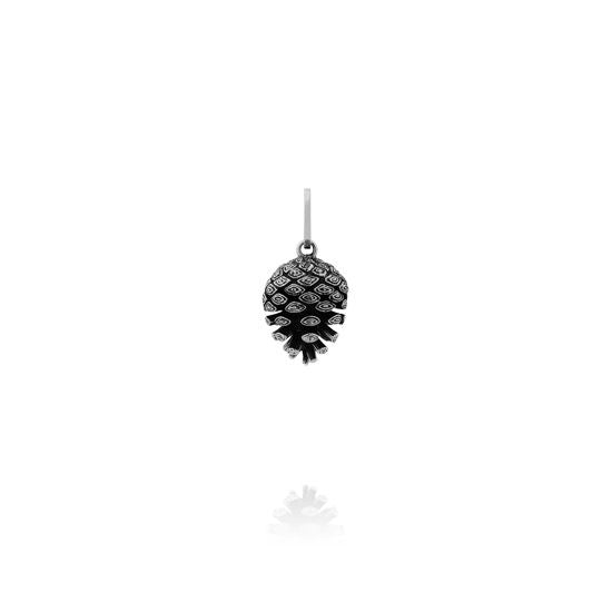 Evolve Necklaces Pinecone-Necklace-Med-Cable-Chain-55cm 2P61002