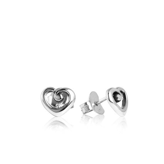 Evolve Earrings Heart of NZ Studs 3E11025