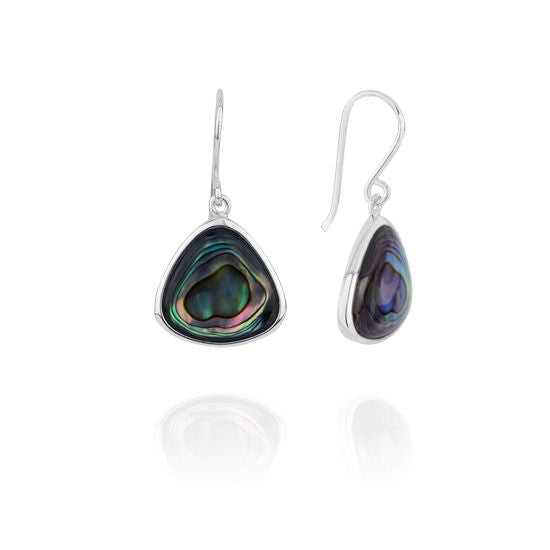 Evolve Earrings Statement-Paua-Drops 3E40011