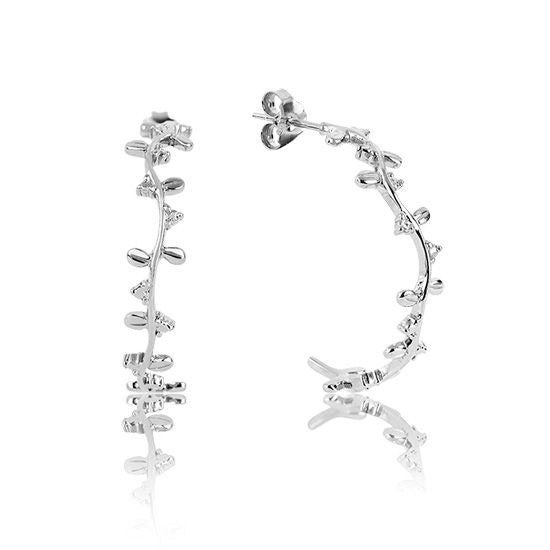 Evolve Earrings Eternity Vine Hoops (Strength) 3E40016