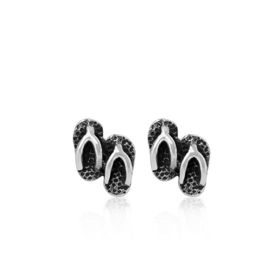 Evolve Earrings Jandal Studs (Kiwi Freedom) 3E40022