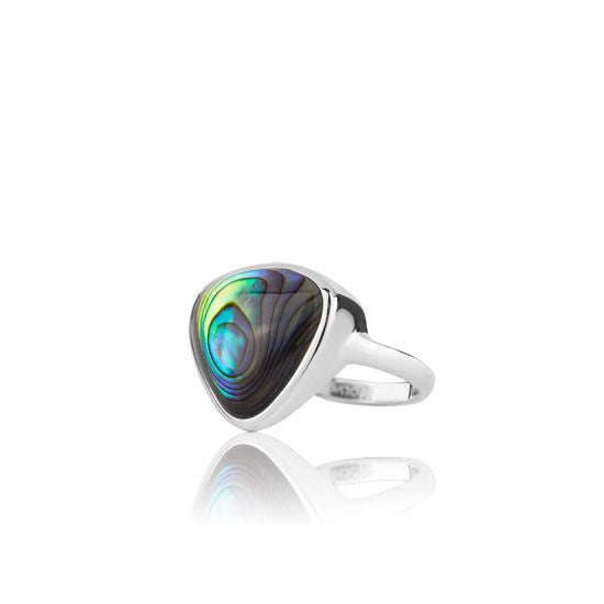 Evolve Rings Statement Paua Ring 3R40011-P