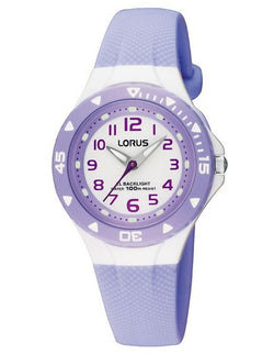 LORUS YOUTH 100M (MAUVE/WHITE)