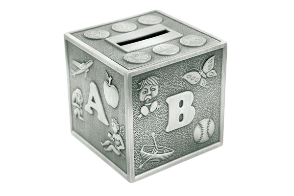 ABC Cube Money Box
