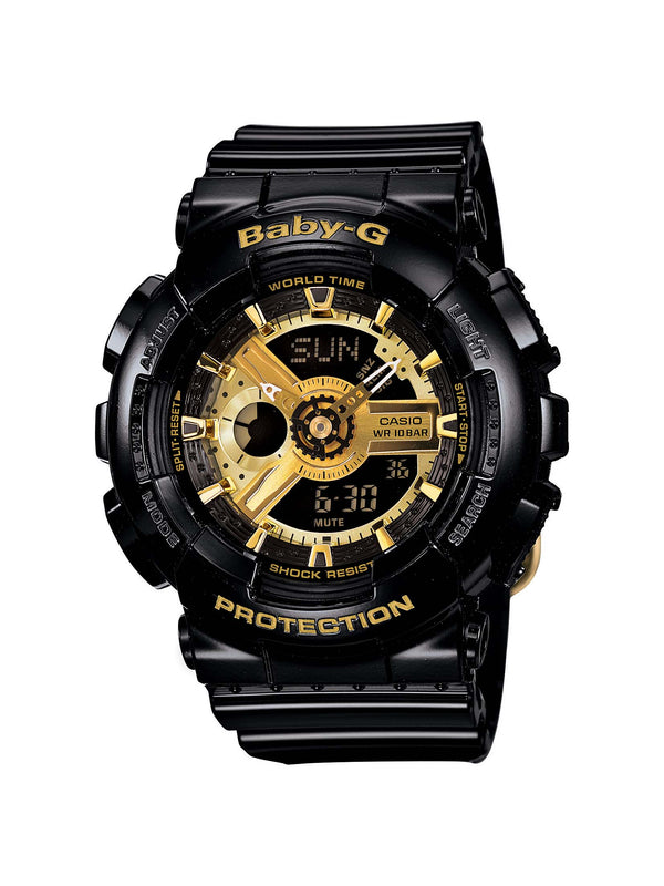 Casio Baby G BLACK GOLD DIGITAL ANALOGUE WATCH