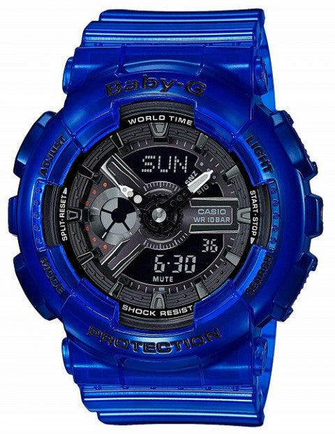 CASIO BABY G CORAL REEF COLOUR BLUE