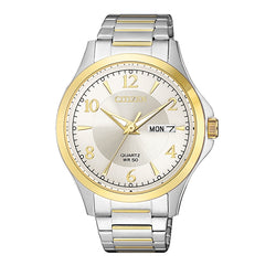 Citizen Gents Watch QUARTZ BRIT SSTT WR50