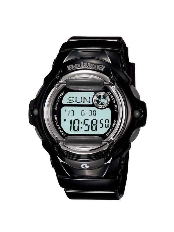 Casio Baby G Digital MATTE Black Pink 200m WR