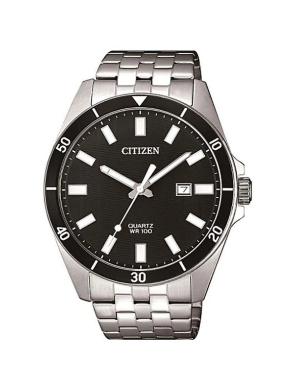 Citizen Gents Watches STAINLESS-STEEL CASE & BRACELET BAND WR100M DRESS WATCH