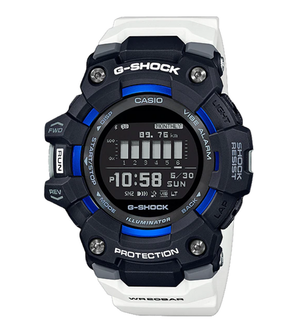 Casio Mens G-Shock G-SQUAD Sports Watch BT Distance Data