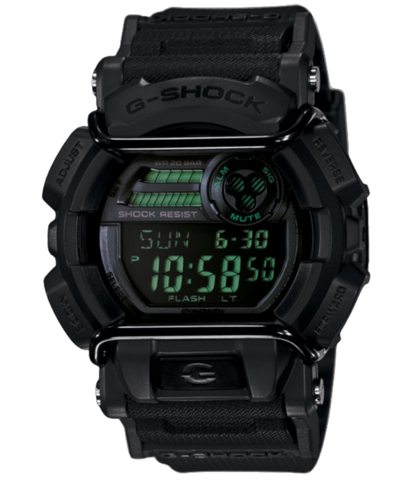 Casio G-SHOCK STREET STEAL TH BLACK DIGITAL WATCH WITH