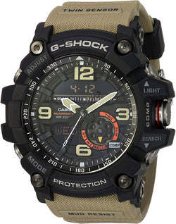CASIO G-SHOCK MUDMASTER TWIN SENSOR MUD RESIST 200M WR THERM