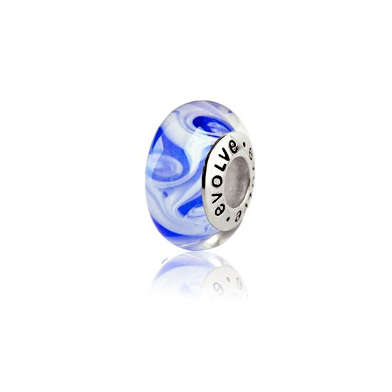 Evolve Charms Murano Glass Pacific Ocean GK70