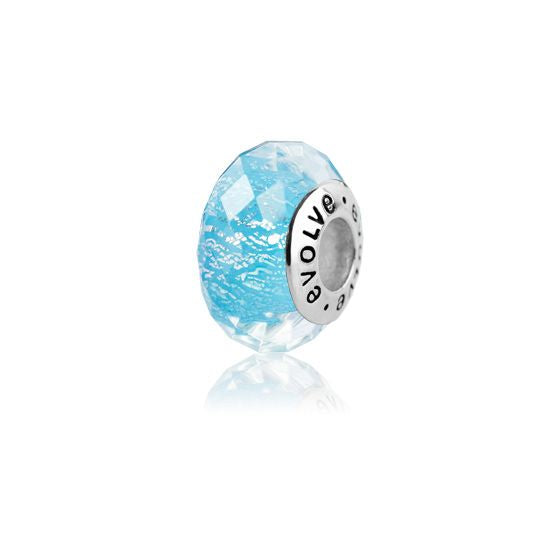 Evolve Charms Murano Glass New Zealand Glaciers GK81