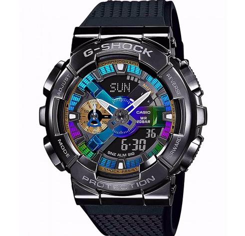Casio G-Shock Watch Analog-Digital DUO Metal Bezel