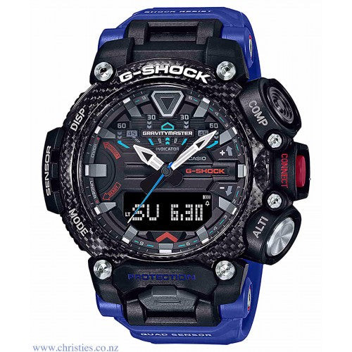 Casio Mens G-Shock Gravity-Master Bluetooth