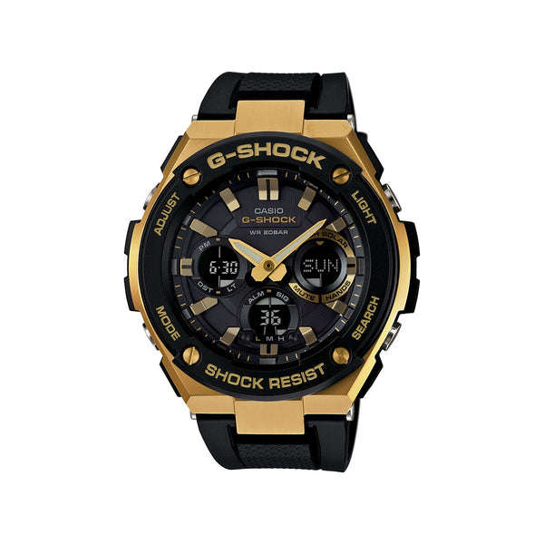 CASIO G-SHOCK STEEL SERISE RESIN/ STAINLESS GOLD
