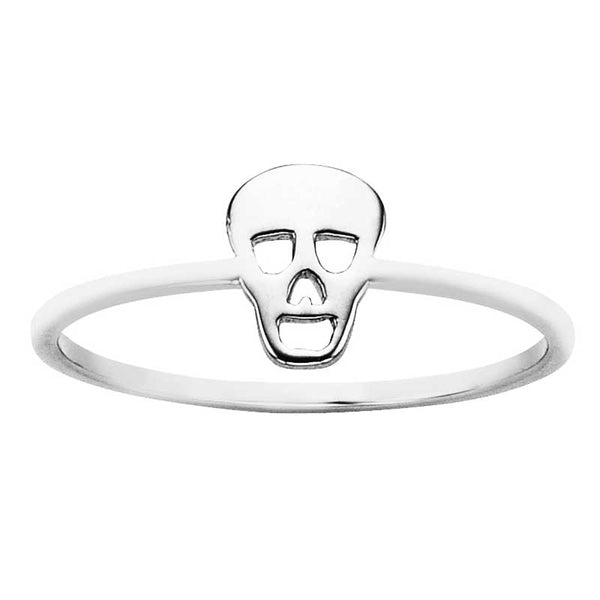 Karen Walker Stg Mini Skull Ring S