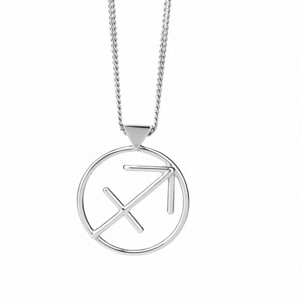 KAREN WALKER STG SAGITTARIUS NECKLACE