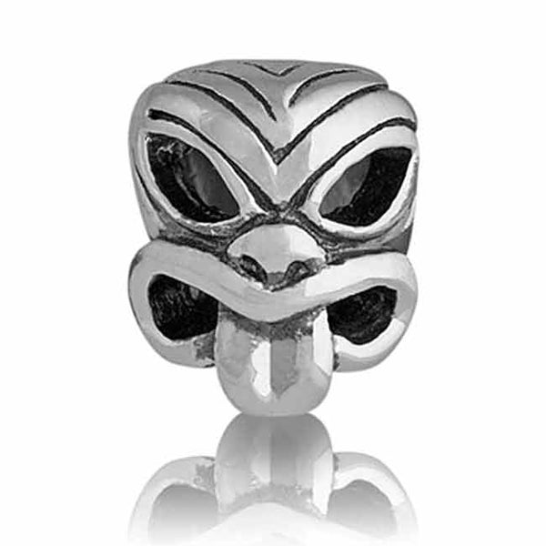 Evolve Charms Silver Pacific Mask LK014
