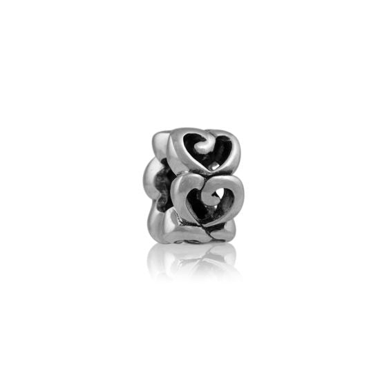 Evolve Charms Silver LOVE LK119