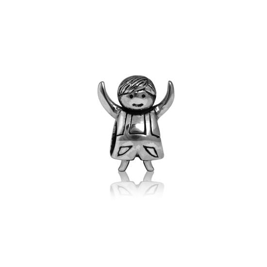 Evolve Charms Silver Treasured Boy LK139