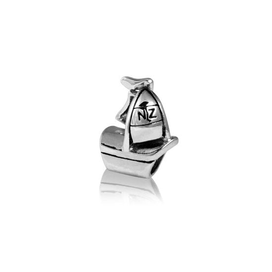 Evolve Charms Silver Sailing Yacht LK151