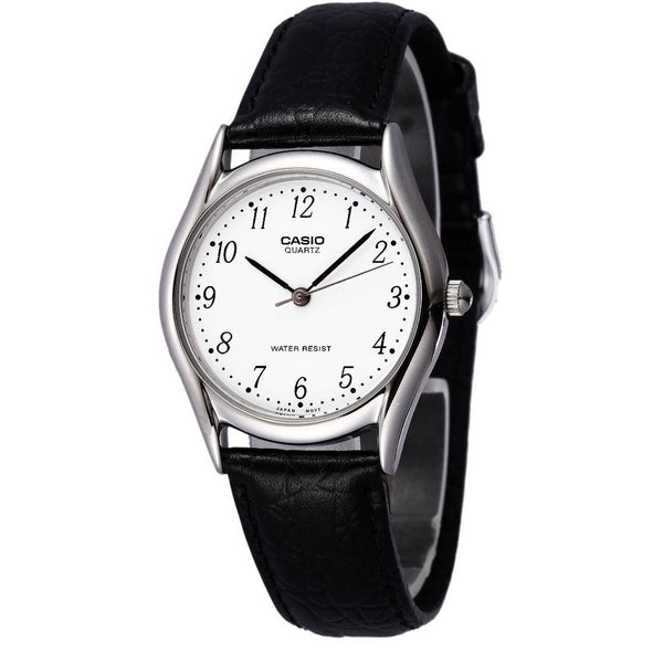 Casio Ladies SP Analogue Watch w Leather Strap