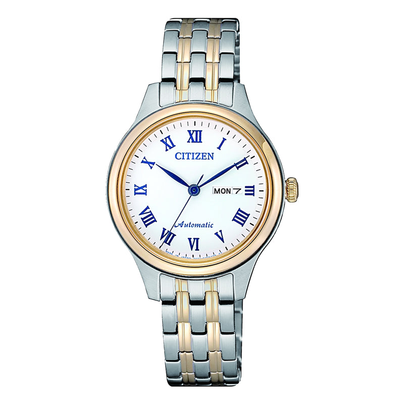 Citizen Ladies AUTO BRIT SSTT WR50