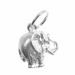 Traditional Silver Charm Elephant_Tiny_Solid