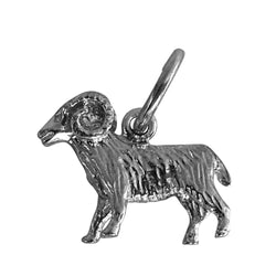 Traditional Silver Charm Zodiac Aries