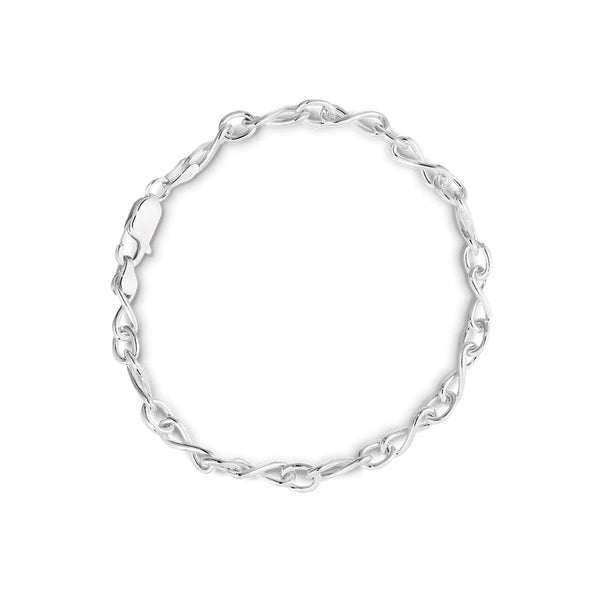 STG INFINITY 1/1 FIG. CABLE CHAIN BRACELET 19cm