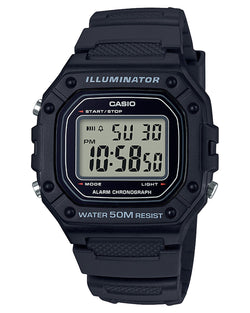CASIO MENS DIGITAL 50MTR WR, STOP WATCH LED BACK LIGHT