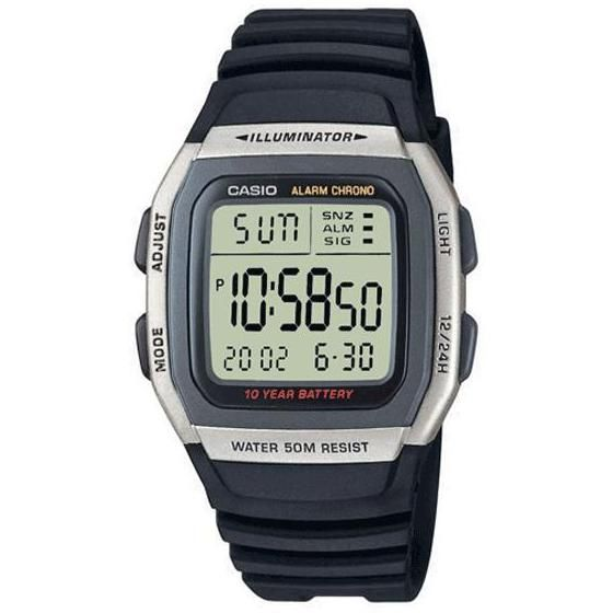 Casio Mens Digital Watch 50M