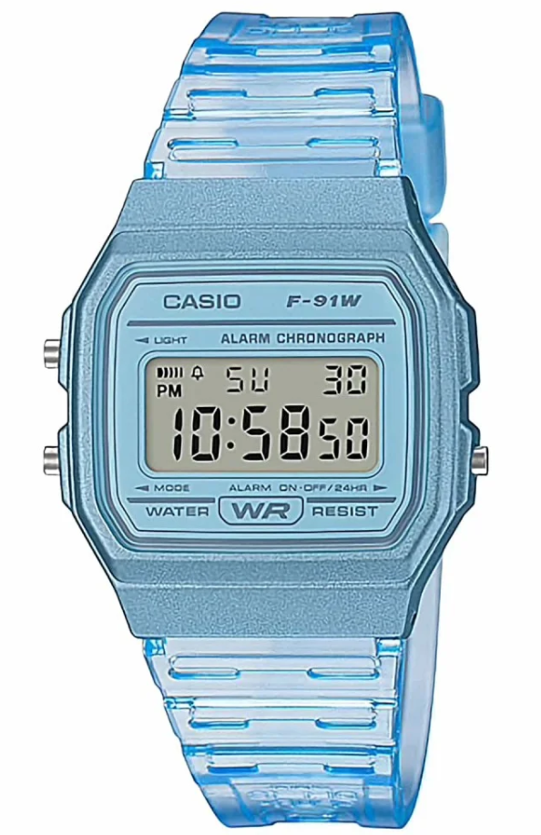 Casio Ladies/ Mens/ Youth Digital Watch Blue