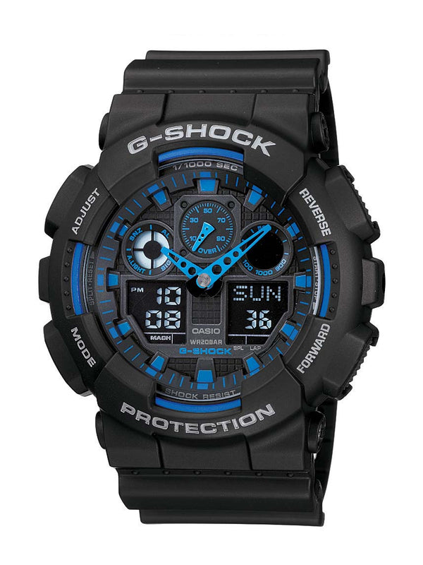 CASIO G-SHOCK 200M Watch (Blk/Blue)